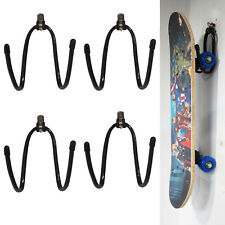 4 Skateboard Storage,Display,Organizer Hanger Rack- Portable Stand or Wall mount