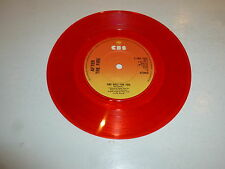 "AFTER THE FIRE - One Rule For You 1979 UK 7"" 2-track RED Vinyl Single"