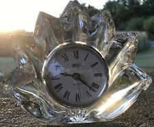 Mikasa Crystaltable Clock German Movement New Battery
