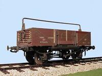 Slaters 7060 O Gauge BR Shock Absorbing Open Wagon Kit