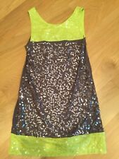 Flowers by Zoe Green and Grey Sequin Sz. 5