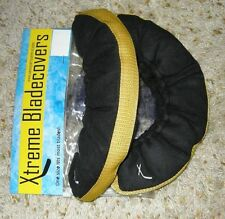 Hockey Skate or Figure Ice Skating Soakers / Blade Covers, Blade Guards - Yellow