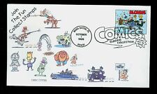 #3000l 32c Comics- Blondie Lake Minnetonka Stamp Club Cachet 73/100 UA  FD1823