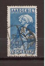1926 Saar / Sarre / Saargebiet Mi. 107 gestempelt