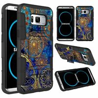 For Samsung Galaxy S8+ / S8 Plus Slide Phone Case Cover Stand Belt Clip Holster