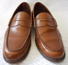 Loake 1880 Men's Brown Leather Loafers Shoes Size 9