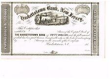 Hackerstown Bank, New Jersey, 185x, unissued
