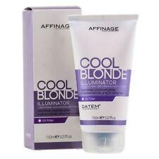 AFFINAGE COOL BLONDE ILLUMINATOR TONER FOR BLONDE WHITE AND GREY HAIR 150ML