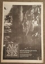 All about Eve 1988 press advert Full page 30 x 42 cm mini poster