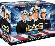 JAG Complete Series Seasons 1-10 COMMANDER'S COLLECTION DVD box set 54 discs NEW