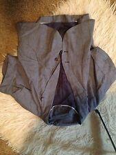 Eryn Brinie Blue Short Sleeve Jacket Small
