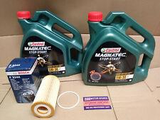 FOR FORD FOCUS MK2 ST 225 ST225 CASTROL MAGNATEC 5W30 8L OIL BOSCH OIL FILTER