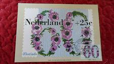 Carte maximum Maximumkaart Floriade 1982 - 60c + 25c