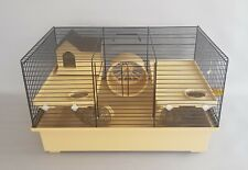 Gerbil Hamster Cage House Wheel Small Animal Rodents Pet Mouse FREE Water Bottle