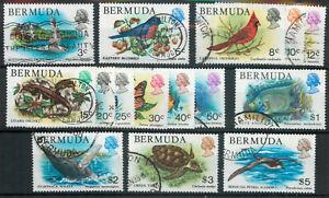 Bermuda 1978 Wildlife set (no 4c) fish birds used *COMBINED SHIPPING*