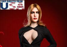 "1/6 Elizabeth Olsen Scarlet Witch Head Sculpt 4.0 For 12"" Hot Toys PHICEN U.S.A."