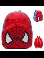 "9"" Avengers Modern Marvel Spider-man Backpack Gym Toy Travel Diaper Bag"