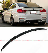 2015-17 BMW F82 M4 V PERFORMANCE STYLE CARBON FIBER TRUNK BOOT LID SPOILER WING