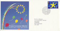 13 OCTOBER 1992 SINGLE EUROPEAN MARKET ROYAL MAIL FIRST DAY COVER WESTMINSTER d