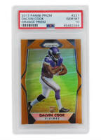 Dalvin Cook 2017 Panini Prizm #231 ORANGE Prizm RC Rookie Card - PSA 10 GEM MINT