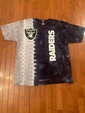 RAIDERS Tie-dye NFL T-shirt Men Size 2XL