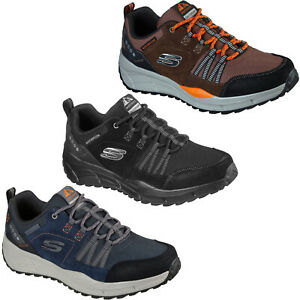 Skechers Mens Trail Trainers Relaxed Fit: Equalizer 4.0 Walking Hiking Shoes