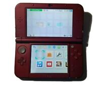 New Nintendo 3DS XL (Red) Console Only (READ DESCRIPTION)