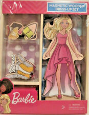 BARBIE MAGNETIC WOODEN DRESS-UP SET - AGE 3+
