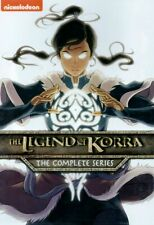 The Legend of Korra: The Complete Series (DVD, 2016, 8-Disc Set) BRAND NEW
