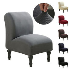 Spandex Slipcover Stretch Armless Chair Accent Chair Cover Protector Elastic