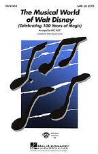 El Mundo Musical De Walt Disney-SATB SATB, piano acompañamiento (con cuerda Sy