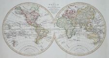 THE WORLD FROM THE LATEST DISCOVERIES BY ARROWSMITH, CIRCA 1800.