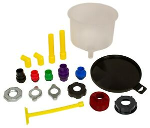 Lisle 24780 Spill-Free Funnel, 18 Piece