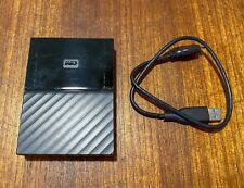 WD Western Digital External 4TB USB3 Portable Drive - WDBYFT0040BBK-0A Black