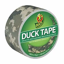 Duck Brand 1388825 Printed Duct Tape, Digital Camouflage, 1.88 Inches x 10 Yards