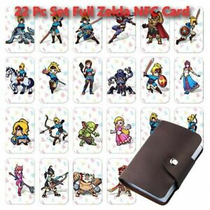 22PCS NFC PVC Tag Zelda Breath of the Wild A full set of  game cards for Switch