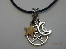 Leather Bronze Fashion Necklaces & Pendants