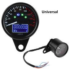 12000RMP Universal LCD Digital Motorcycle Odometer Speedometer Tachometer Gauge