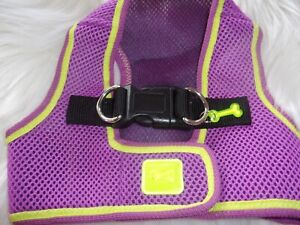 Purple Body Harness Vest M Pet Dog new no choke free step-in pup Medium