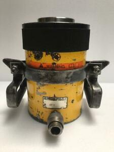 """ENERPAC RCH 603 HYDRAULIC HOLLOW CYLINDER 60 TONS CAPACITY 3"""" STROKE (6)"""