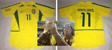 2002 WC Brazil jersey signed autographed RONALDINHO Proof Barcelona PSG Legend