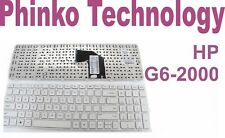 Keyboard for HP Pavilion G6 G6-2000 Series Laptop White US Layout With Frame