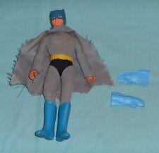 "vintage Mego WORLD'S GREATEST SUPER-HEROES WGSH 8"" BATMAN with gloves boots belt"