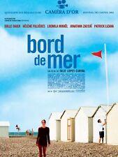 Affiche 40x60cm BORD DE MER (2002) Bulle Ogier, Hélène Fillières, Ludmila Mikaël
