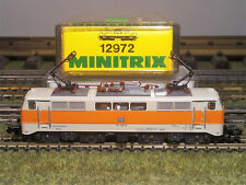 N E-lok BR 111 118-6 DB Minitrix 12972 Neuw.