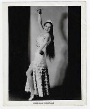 Vintage FLAMENCO SPANISH DANCE Female Photo - HARRY CLARK PRODUCTIONS !!