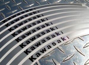 Kawasaki Rim Stripes Tape - 250R 300R ER6 650R ZX6 ZX9 ZX10 ZX12 ZX14 Z1000 Z750