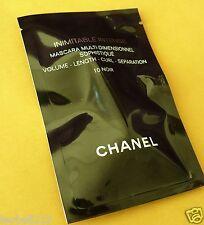 Brand New Chanel Immitable Intense Mascara 10 Noir 1ml/0.03oz Sealed