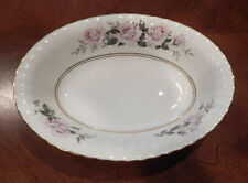"PARAGON H M THE QUEEN & H M QUEEN MARY ""MADISON"" OVAL VEGETABLE BOWL 10 1/4"""