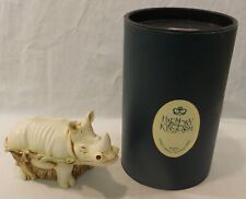 Harmony Kingdom Horn A' Plenty Rhino